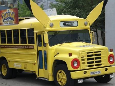 Torneo Pokémon... ¡dentro de un camión!