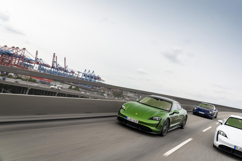 Foto de Porsche Taycan prueba contacto (130/275)