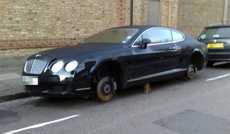 Bentley Continental GT edición pies descalzos