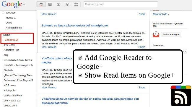 RSS Share, extensión para Chrome que mejora la forma de compartir tus RSS en Google Plus