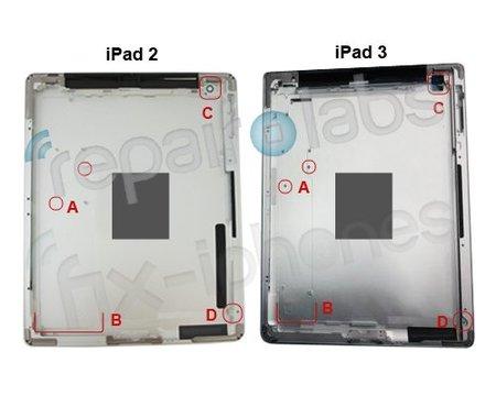 Mas detalles del iPad 3, bateria de larga duración y placa logica diferente