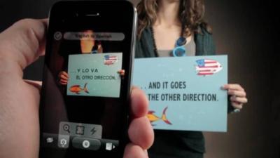 Google compra la app Word Lens para mejorar su Google Translate