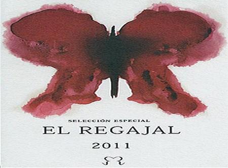 Etiqueta de la botella de El Regajal