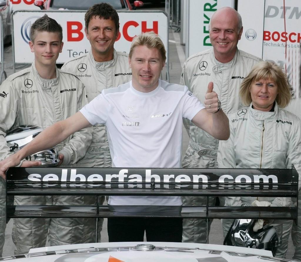 Hakkinen Oschersleben 2007