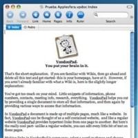 VoodooPad Lite: Bloc de notas supervitaminado