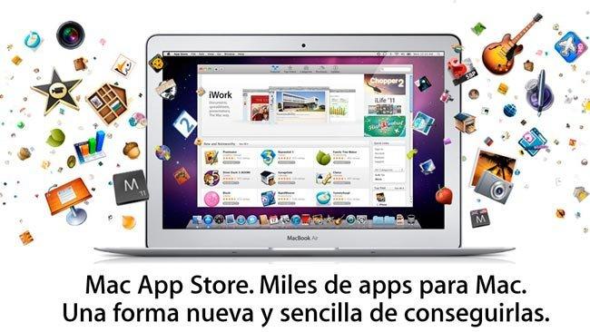 Página de la Mac App Store