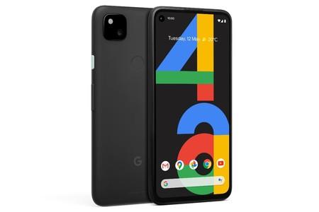 Google Pixel 4a con cámara trasera con pantalla perforada 12