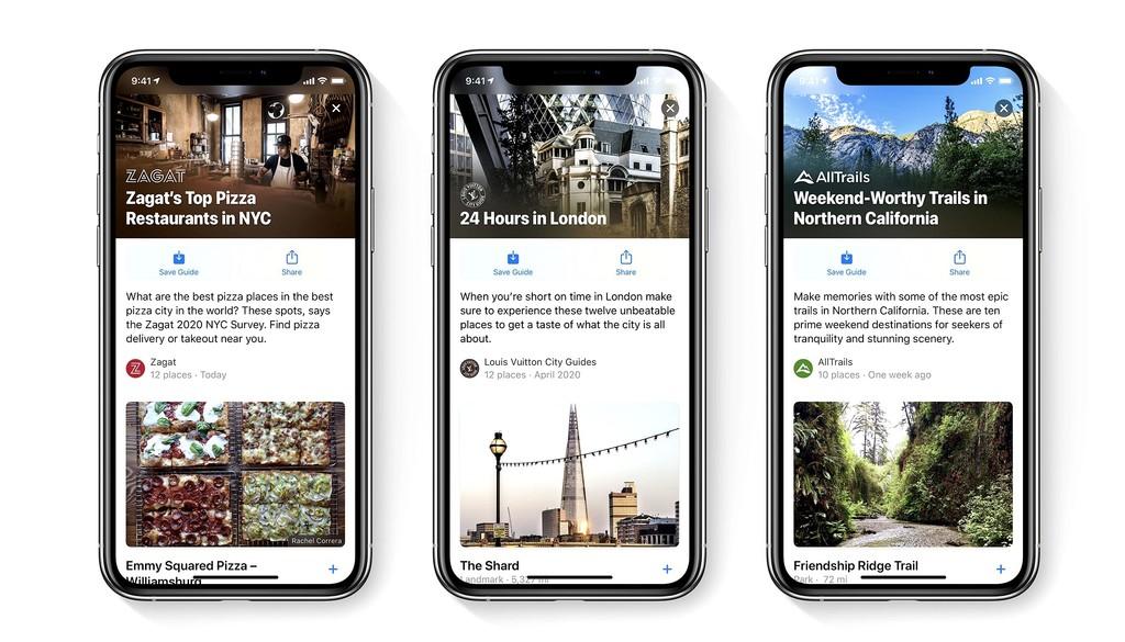 Novedades de la app Mapas en iOS 14: rutas en bicicleta, disponibilidad de cargadores, guías y avisos en ruta