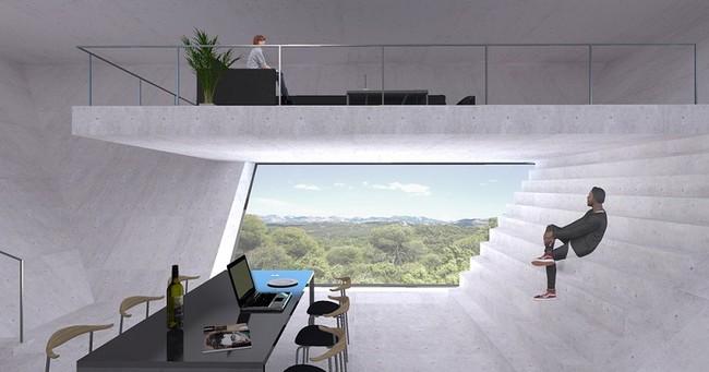 Casa futurista en el Matarraña
