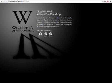 Los protagonistas del apagón contra SOPA y PIPA [Actualizado]