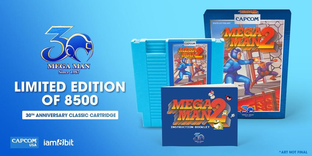 Mega Man 2 Edicion 30 Aniversario