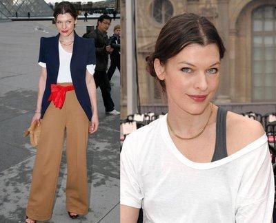 El look de la semana 9/15 de marzo: Milla Jovovich de Louis Vuitton