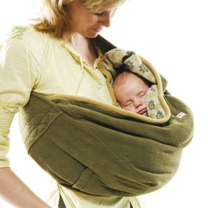 Otra forma de llevar a tu bebé