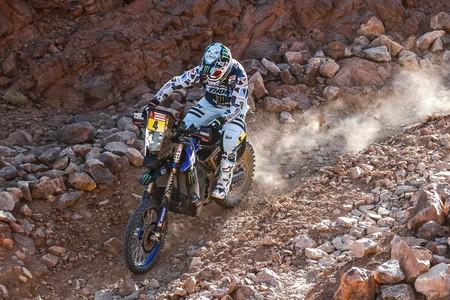 Primer accidente grave del Dakar 2020: Adrien Van Beveren destrozó su Yamaha y se rompió la clavícula derecha
