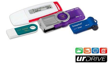 Kingston urDrive, la nueva aplicación para tu memoria