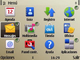 Nokia E72, software y experiencia de uso
