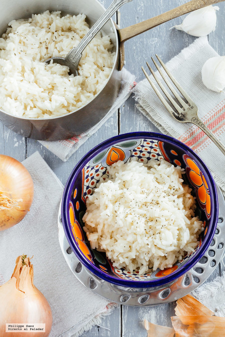 ¿Cómo preparar arroz blanco?