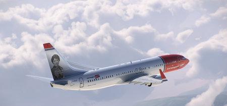 Norwegian le dedica un avión a la escritora Rosalía de Castro