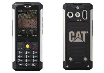 Cat B100, el móvil básico para los más descuidados