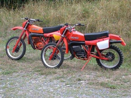 Moto Cross de los años setenta, cuando Can-Am todavía era una moto