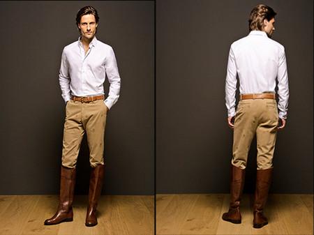 Pantalones estampados Massimo Dutti