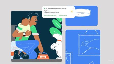 Notificaciones para cuando llora un bebé o suenan alarmas: así es como Google quiere ayudar a personas con problemas auditivos