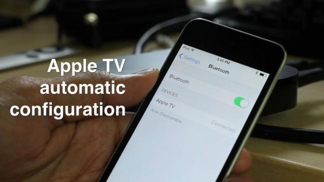 Configurando el Apple TV automáticamente con iOS 7 al más puro estilo NFC