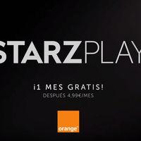 Orange TV sube la apuesta por el cine y las series integrando STARZPLAY por 4,99 euros