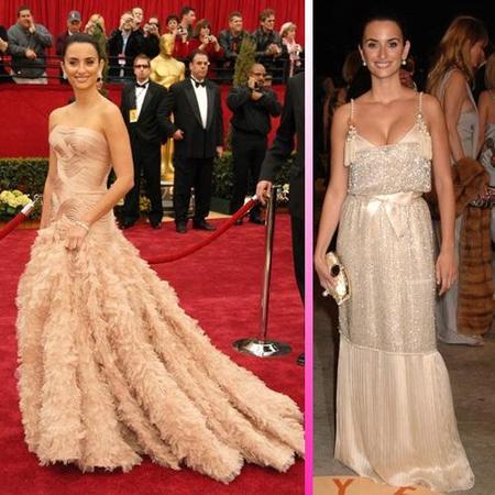 Penélope Cruz es elegida la mejor vestida de los Oscars de los últimos 20 años