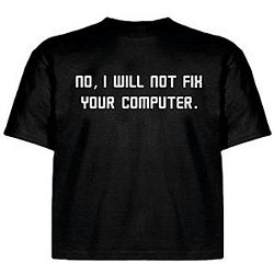 Camiseta poco amable