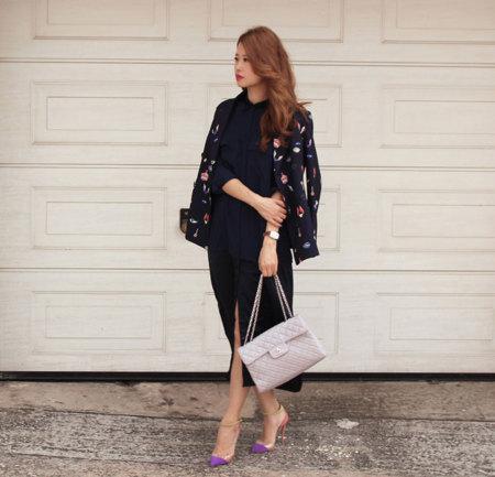Bomber Estampado Moda Blogger