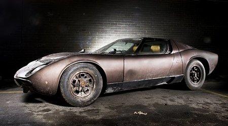 Un Lamborghini Miura adquirido por Aristóteles Onassis en 1969 a subasta