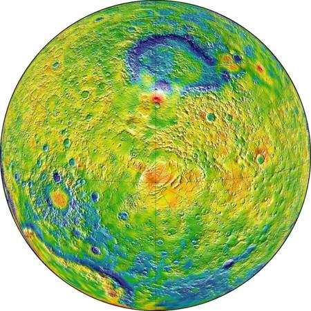 Marte Sur