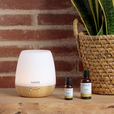 Oysho y la marca de aromaterapia Sîsen lanzan un humidificador y difusor de aceites esenciales con fragancias de lo más relajantes