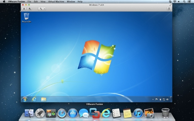 vmware fusion 5 os x windows virtualización