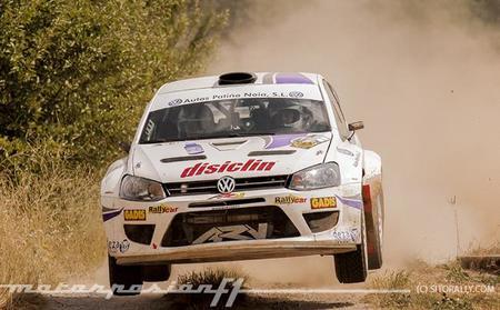 Amador Vidal logra su segundo triunfo del año en el Rally de Tierra del Bierzo