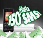 150 SMS al comprar un pack prepago en la web de Movistar