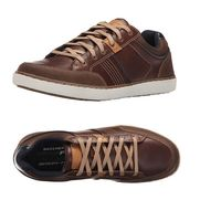 Por 35,95 euros podemos estrenar unas zapatillas Skechers Lanson-Rometo en marrón gracias a Amazon