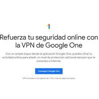 La VPN de Google One ya está disponible en España