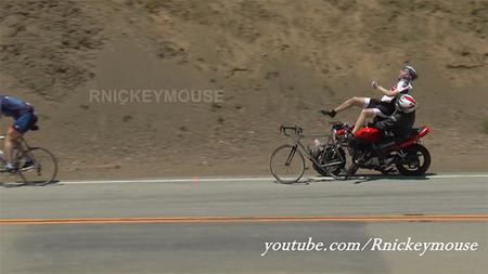 Lo último en Mulholland: respeta al amigo ciclista