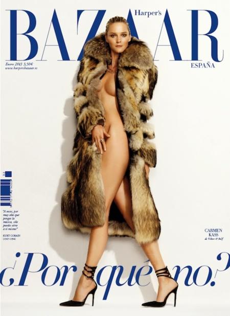 ¿Y por qué no? Harper's Bazaar dará que hablar este 2013