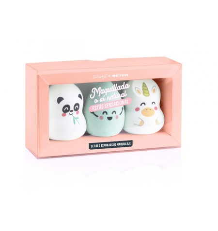 Set De Esponjas De Maquillaje Mr Wonderful X Beter