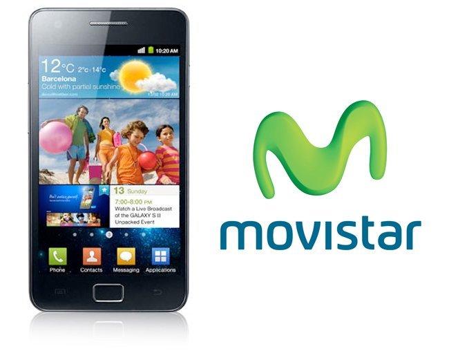 Samsung Galaxy SII Movistar