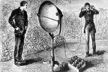 Aunque el teléfono es uno de los inventos más conocidos de Bell, el fotófono resultó mucho más fascinante