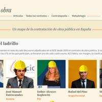 Quién cobra la obra, el Wikileaks de las obras públicas españolas