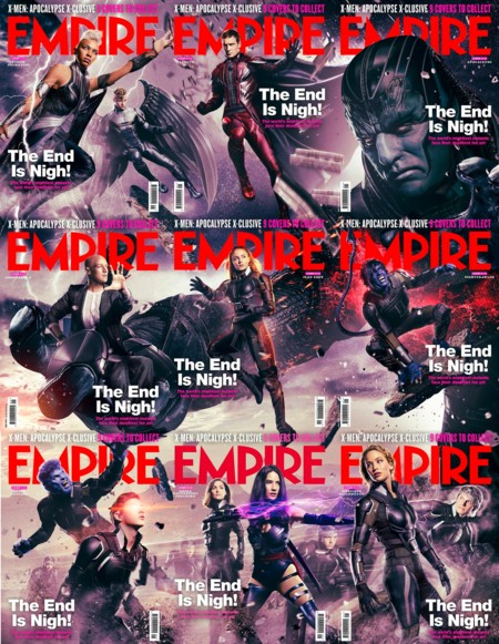 9 portadas de Empire forman un megapóster de la película