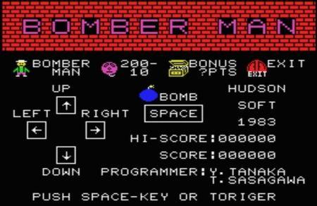 Bomber Man (1983; Hudson Soft)