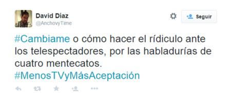 Cambiame Twitter Telecinco 6