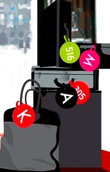 Etiquetas personalizadas para las maletas