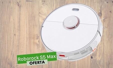 Si quieres hacerte con un robot que te barra y friegue el suelo, tienes en eBay el Mi Roborock S5 Max por 359,10 euros con este cupón